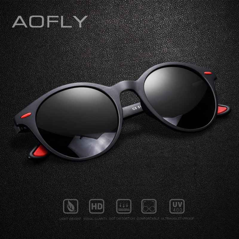 Men Sunglasses Polarized Oval Frame Sunglasses Women Men Vintage Unisex