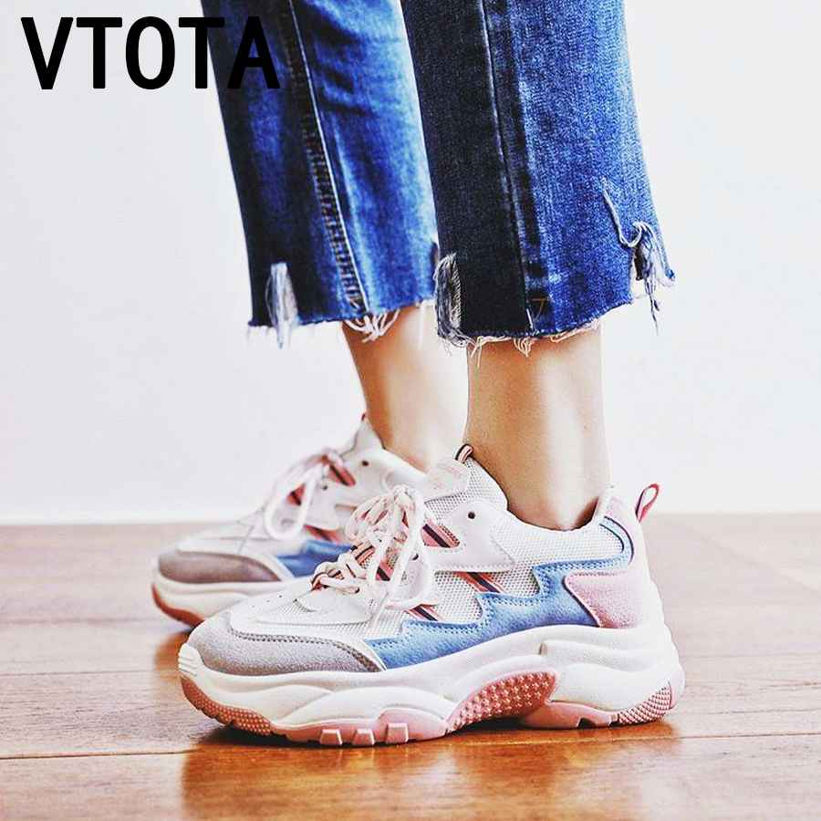 Vtota 2018 Spring Autumn Fashion Ladies Casual Shoes For Woman