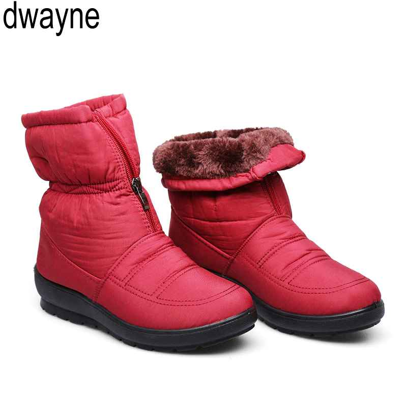 Snow Boots 2019 Brand Women Winter Boots Mother Boots Antiskid