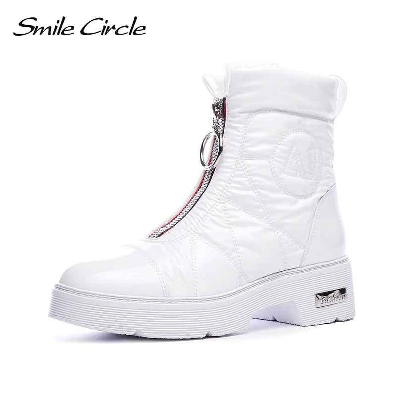 2019 Winter Boots Women Snow Boots Warm Down Shoes Easy