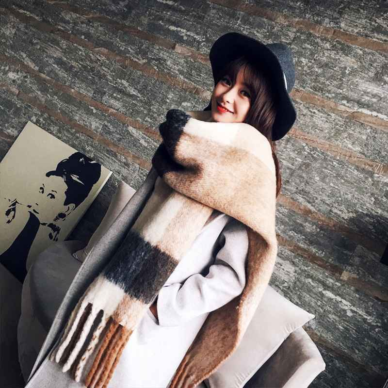 New Arrival Autumn Winter Women Girls Double Sides Wild Soft