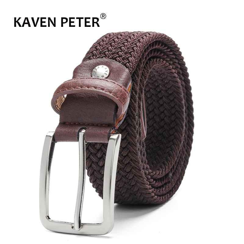 Elastic Belt For Men And For Women Waist Belt Canvas