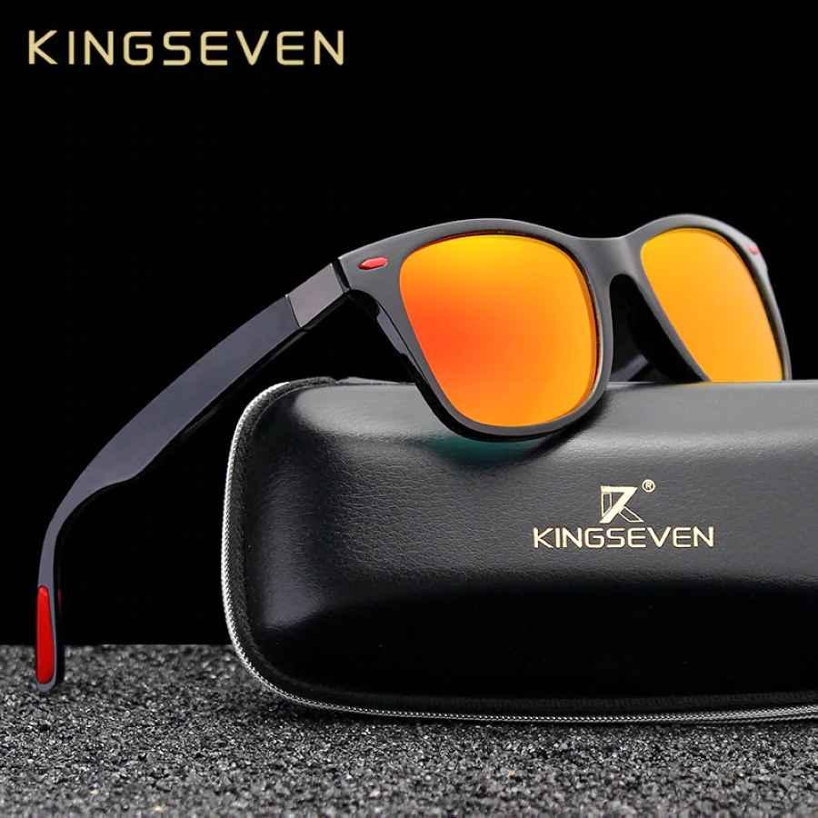 Original Brand Classic Polarized Sunglasses Men Women Driving Square Frame