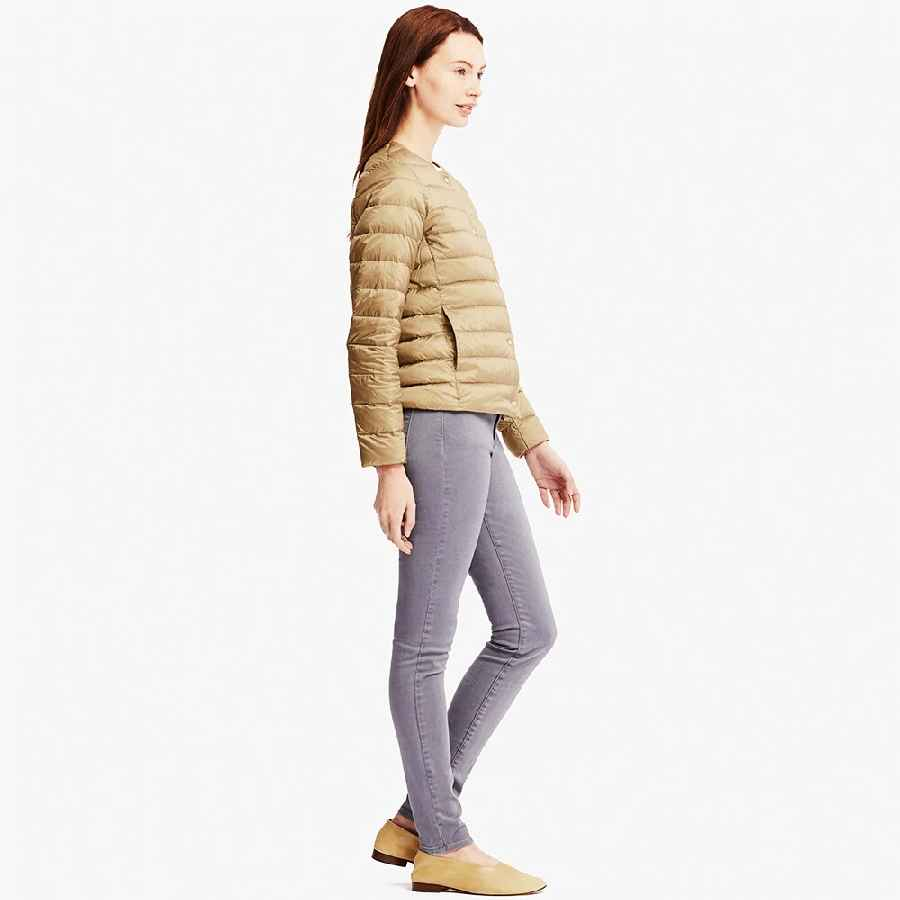 Coats newbang matt fabric down coat female ultra light down