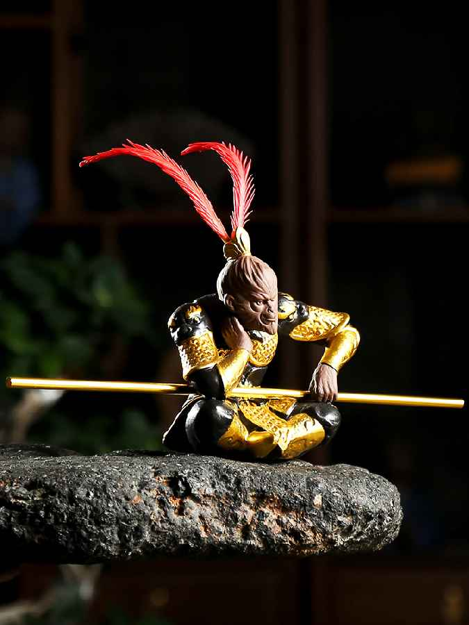 Car Vehicle Mounted Ornament Great Sage Sun Wukong Handsome Monkey