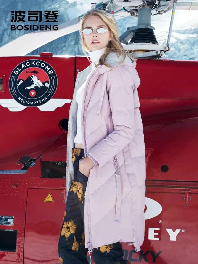 2018 New Winter Women Duck Down Coat Long Parka Thicken