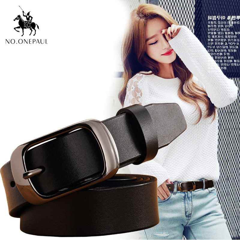 No.Onepaul Fashion Retro Women Belt Belts For Women Female Lady