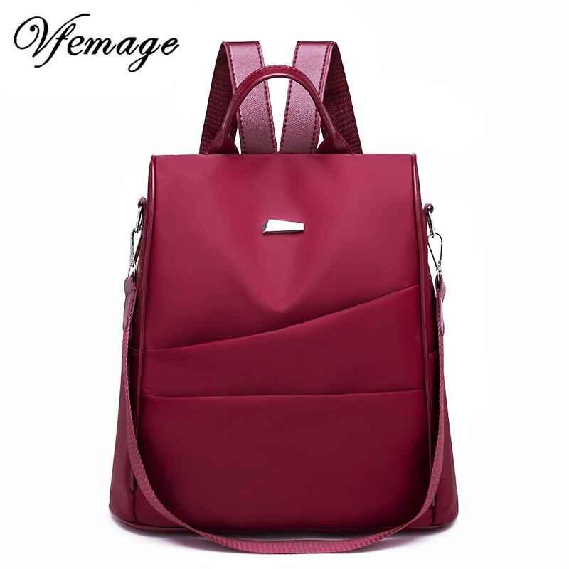 Oxford Anti Theft Backpack Women Bag Multifunction Backpack Female Travel
