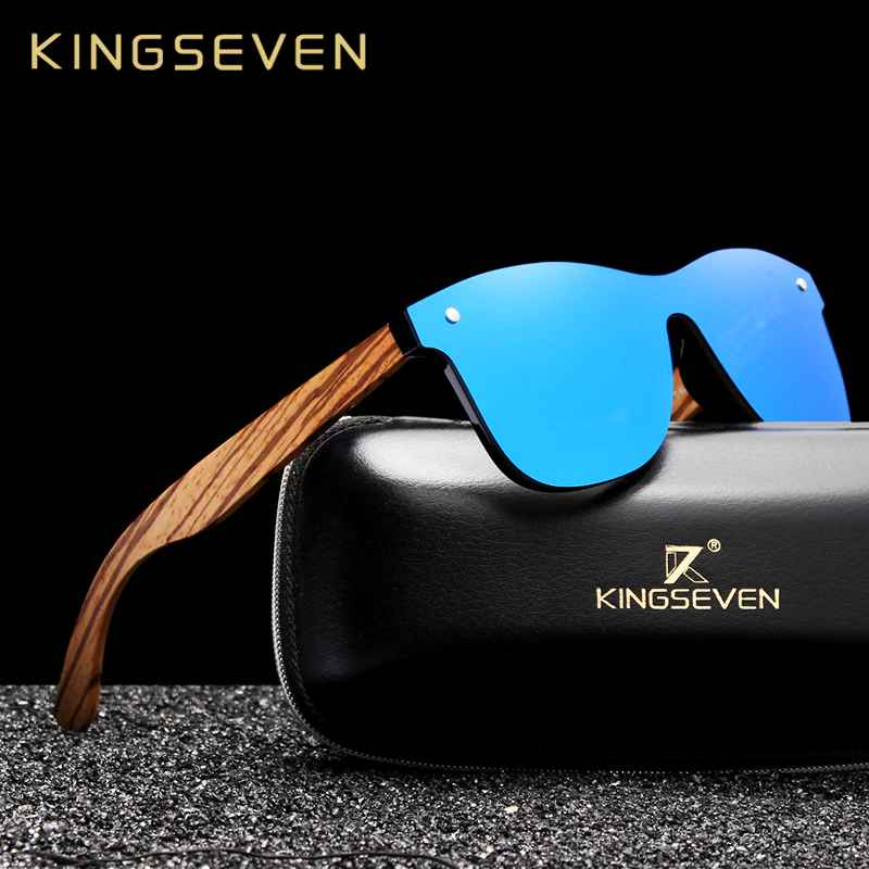 2019 Handmade Wooden Eyewear Polarized Mirror Sunglasses Men Women Vintage