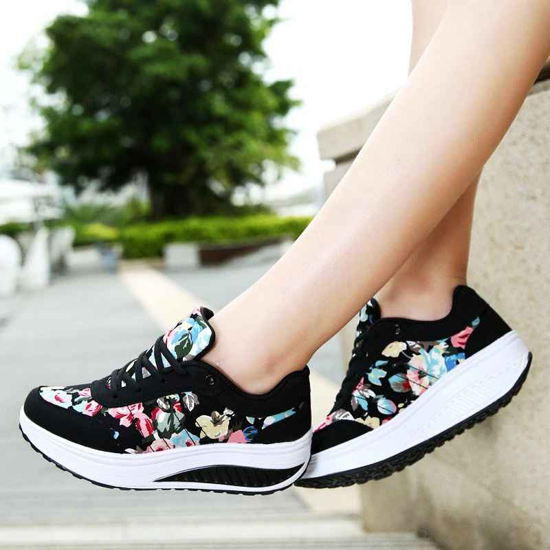 Vtota Women Shoes 2018 Fashion Sneakers Women Basket Femme Comfortable