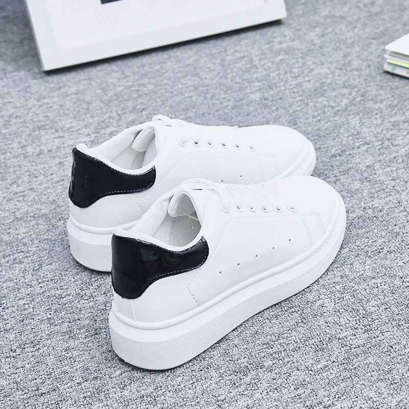 Women Shoes White Sneakers For Women Vulcanize Shoes Spring Autumn