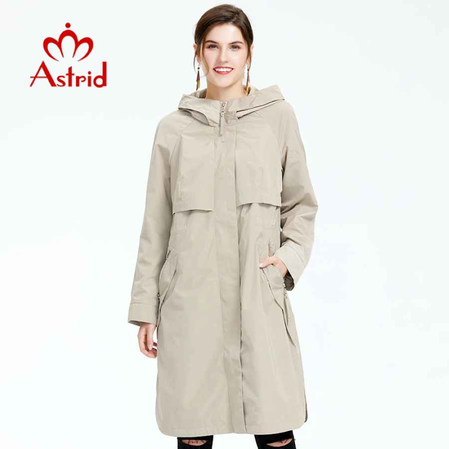 2019 Trench Coat Spring And Autumn Women Causal Coat Long