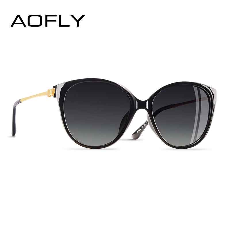 2020 Trending Women Polarized Cateye Sunglasses Ladies Sun Glasses Driving