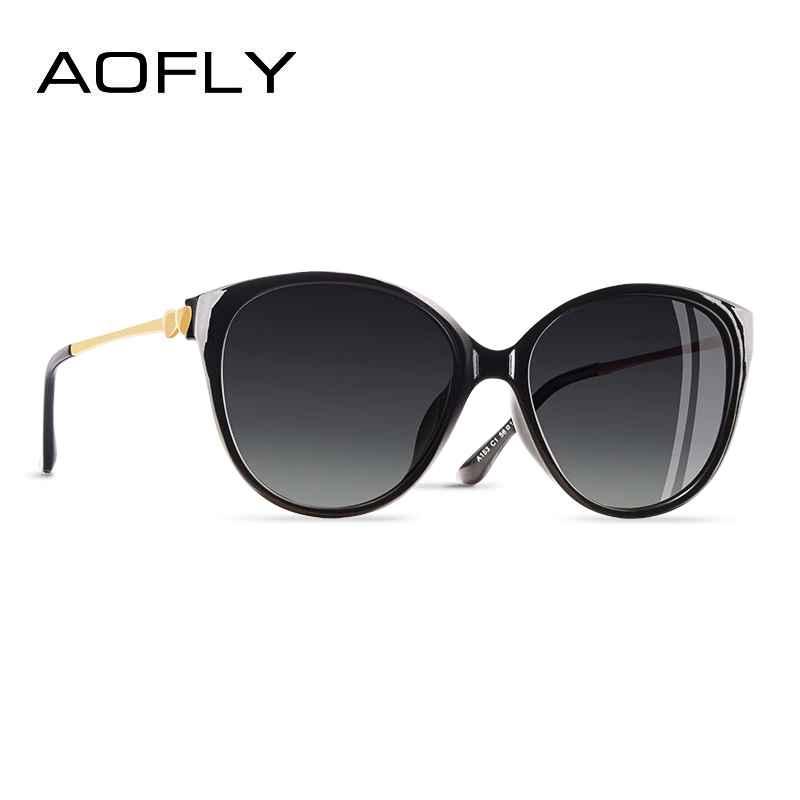 2020 Trending Women Polarized Cateye Sunglasses Ladies Sun Glasses Driving