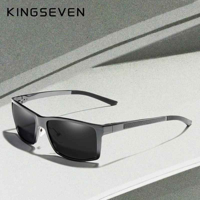 New Design Aluminum Magnesium Sunglasses Men Polarized Square Driving Sun