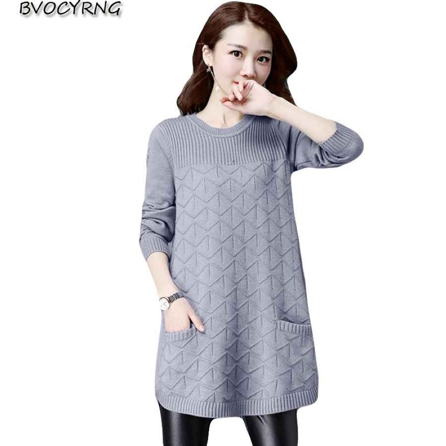 Loose Sweaters For Women 2019 Spring Autumn Bottoming Shirt Pullover