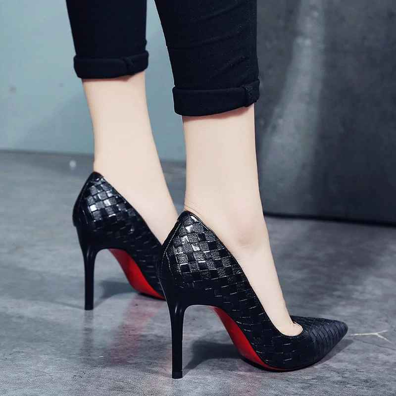 Europe Sexy Women Shoes Red Bottom High Heels Pumps Springautumn