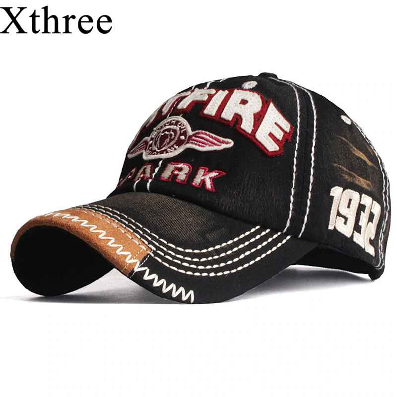 Xthree New Baseball Caps For Men Cap Streetwear Style Women