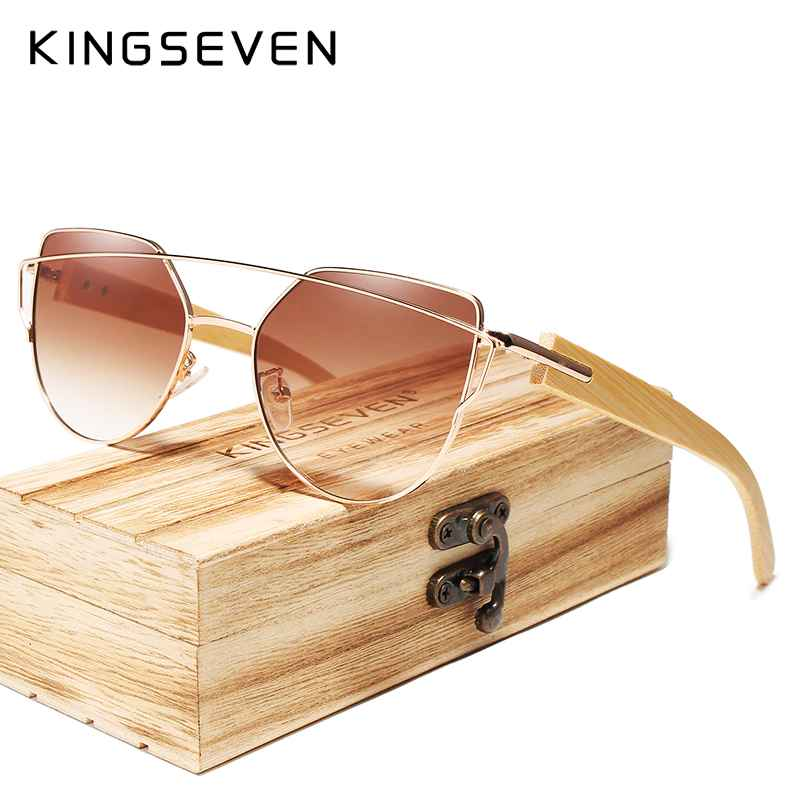 2020 Handmade Wood Sunglasses Men Bamboo Sunglass Women Brand Design