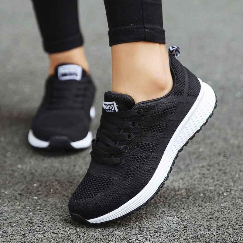 Shoes Woman Sneakers White Platform Trainers Women Shoe Casual Tenis