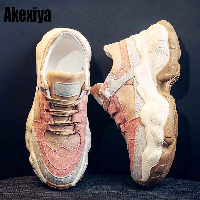 High Quality Trainers Womens Platform Sneakers Women Shoes Breathable Casual