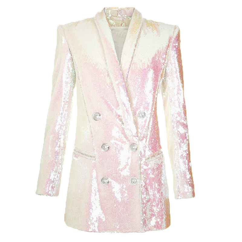 Blazers high quality newest fashion runway 2019 designer blazer womens
