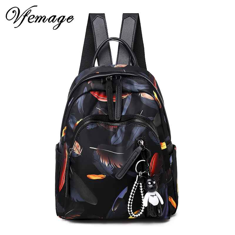 2019 New Fashion Women Backpacks Small Waterproof Oxford Backpack Female