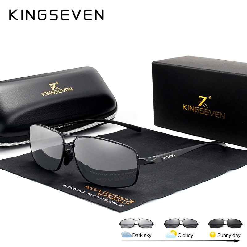 New Photochromic Sunglasses Men Polarized Chameleon Glasses Male Sun Glasses