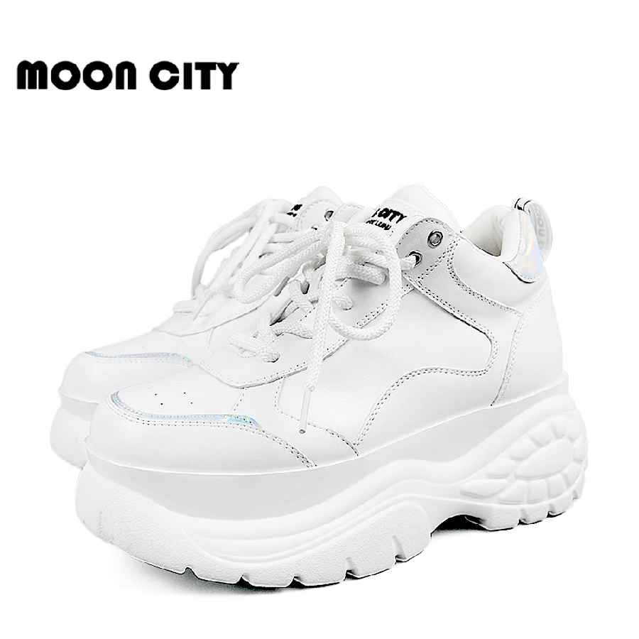 Women Shoes 2019 Chunky Sneakers Women Vulcanize Shoes Femme Platform