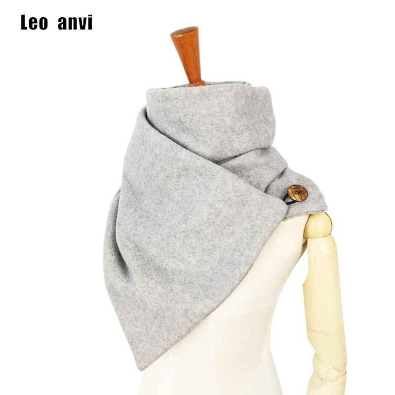 Leo Anvi Fashion Brand Designer Scarves Women Men Neck Warmer