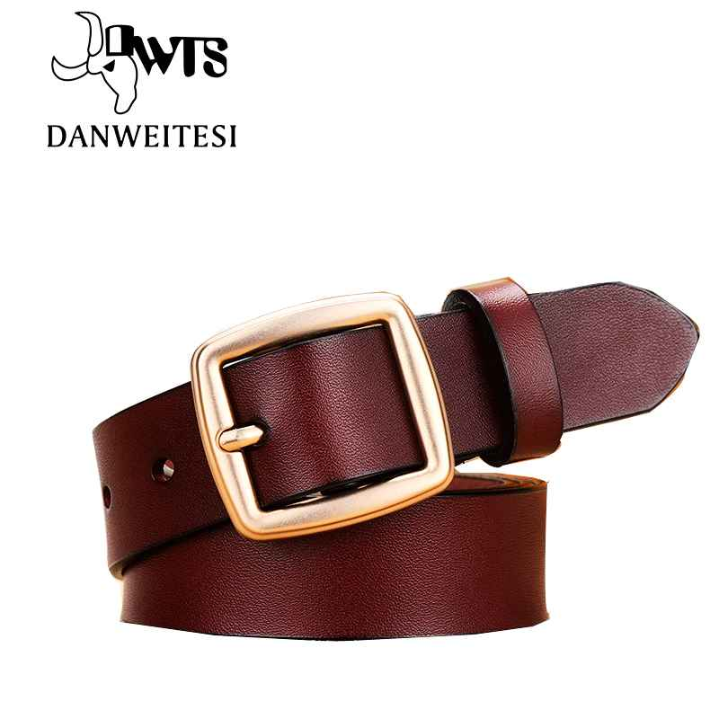 Fashion Women s Belt Genuine Leather Belts For Women Female Belt