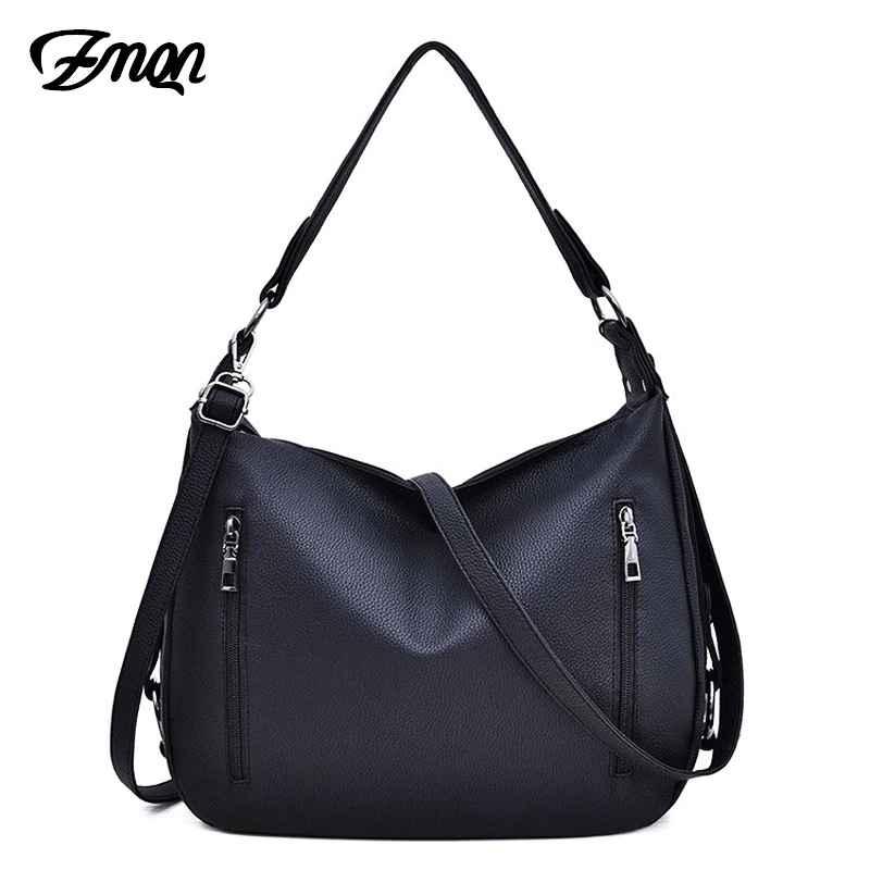 Bag Women's Hobos Black Handbags For Women Leather Shoulder Bags