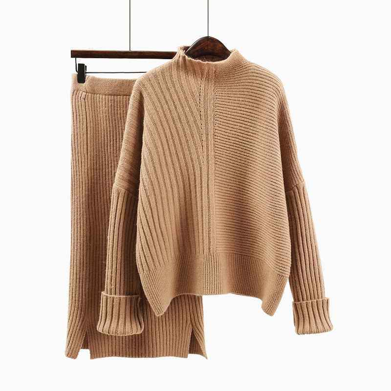 2019 New Fashion Autumn Women s Long Sleeve Loose Knit Sweater