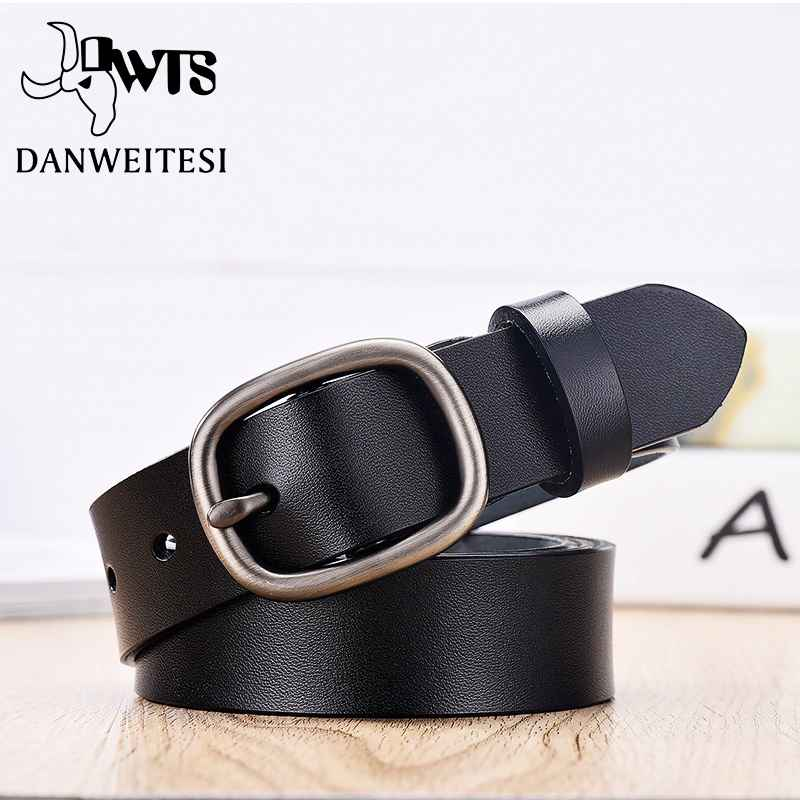Women s Belt Fashion Women Female Belt Genuine Leather Belts For