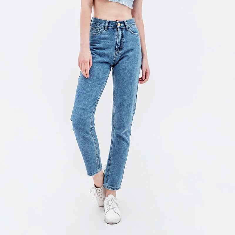 Jeans luckinyoyo jean woman mom jeans pants boyfriend jeans for