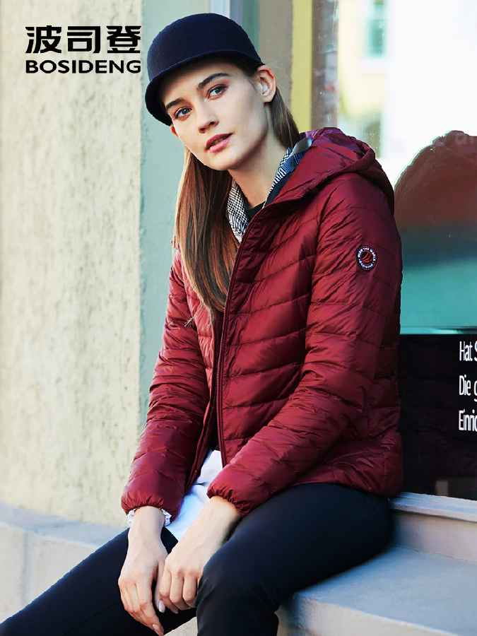 2019 New Collection Early Winter Down Jacket Women Hooded Down