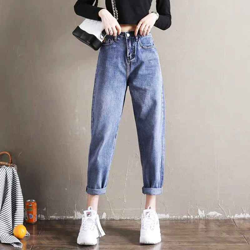 Jeans boyfriend jeans for women autumn casual denim pants new