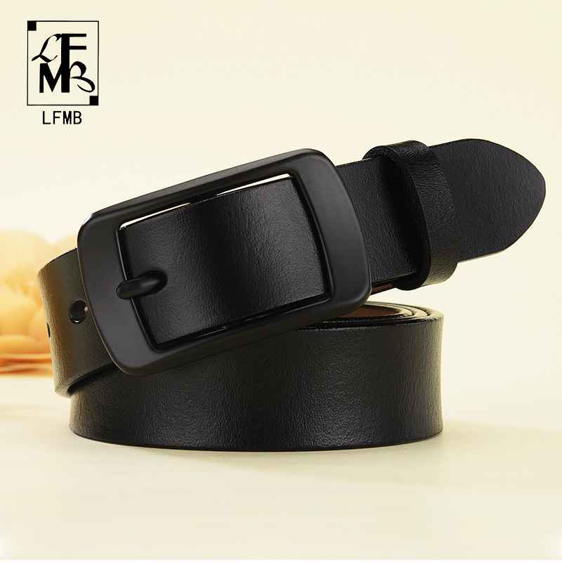 LfmbNew Designer Fashion Women s Belts Genuine Leather Brand Straps Female