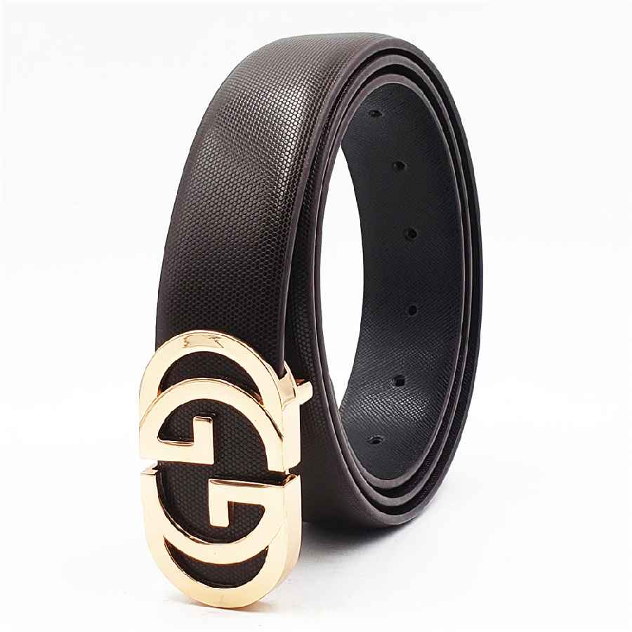 Luxury Designer Belt For Men Women Double G Smooth Buckle