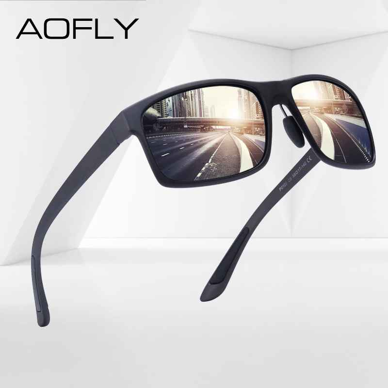 Tr90 Polarized Sunglasses Male Driver Shades Women Fashion Sun Glasses