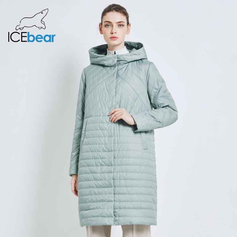 Icebear 2019 New Long Women s Autumn Coat Casual Female Coats