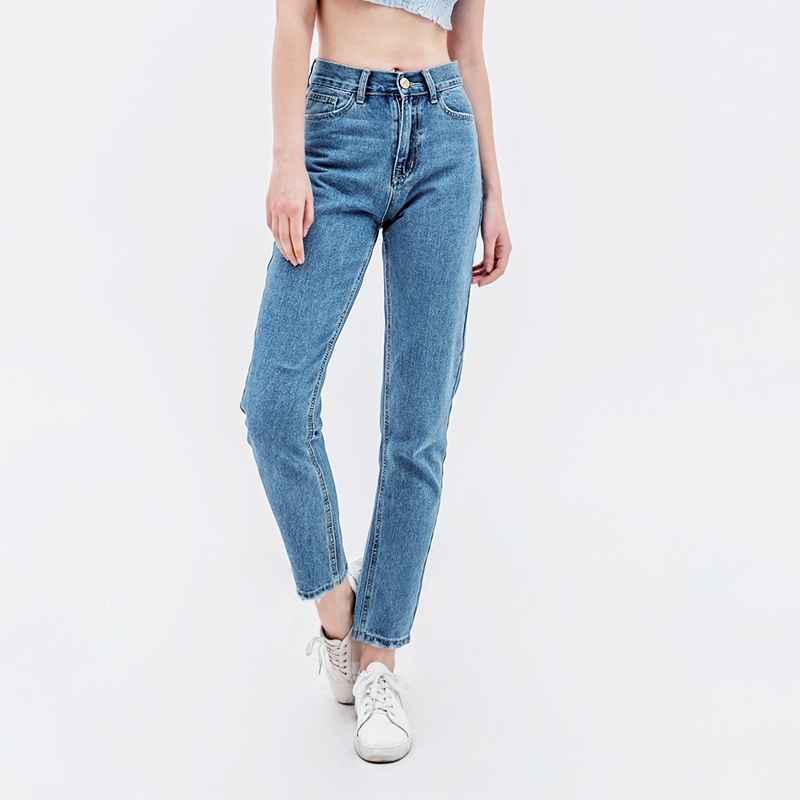 Jeans boyfriend jeans for women high waist mom jeans plus