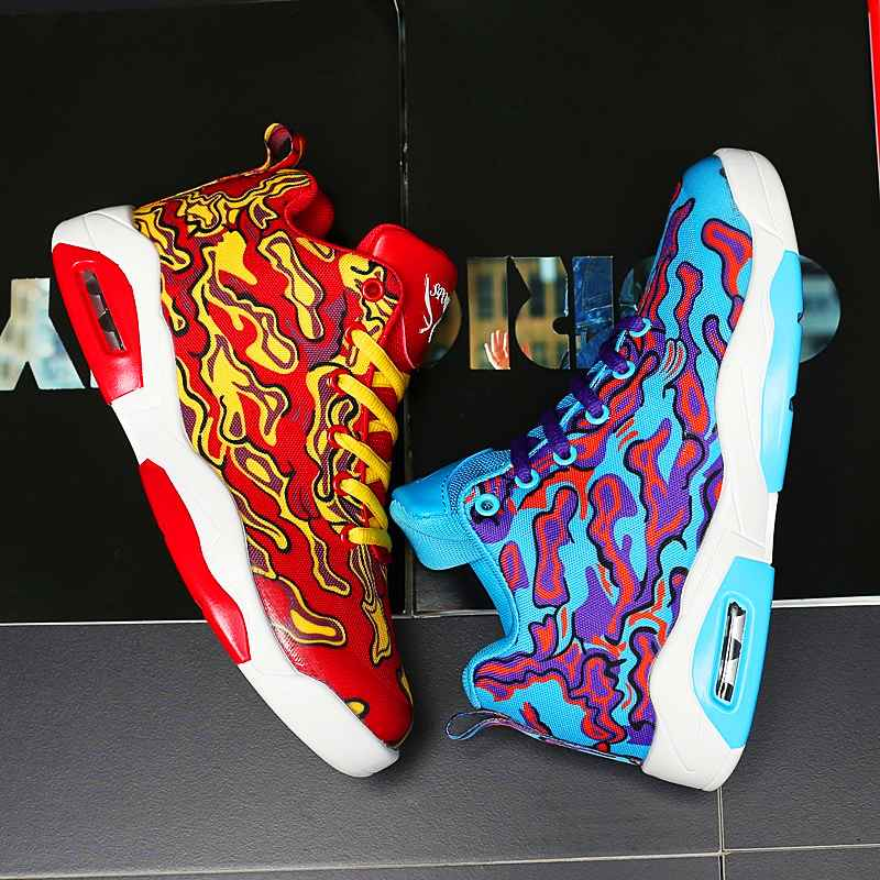 Couple Exclusive New Unisex Sneakers Basketball Shoes Women Vulcanized Shoes