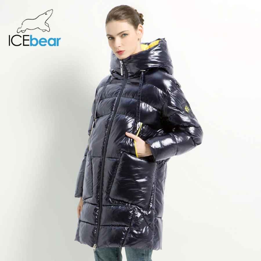 2019 New Winter Women s Coat Hooded Female Jacket With Zipper