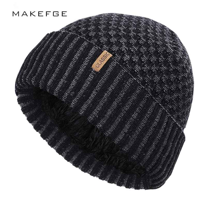 2019 New Plus Velvet Cotton Cap Winter Warm Men And