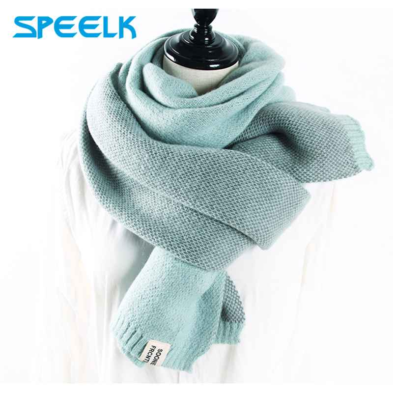 2019 Cashmere Scarves Women Autumn Winter Double-Sided Embroidery Pineapple Wraps