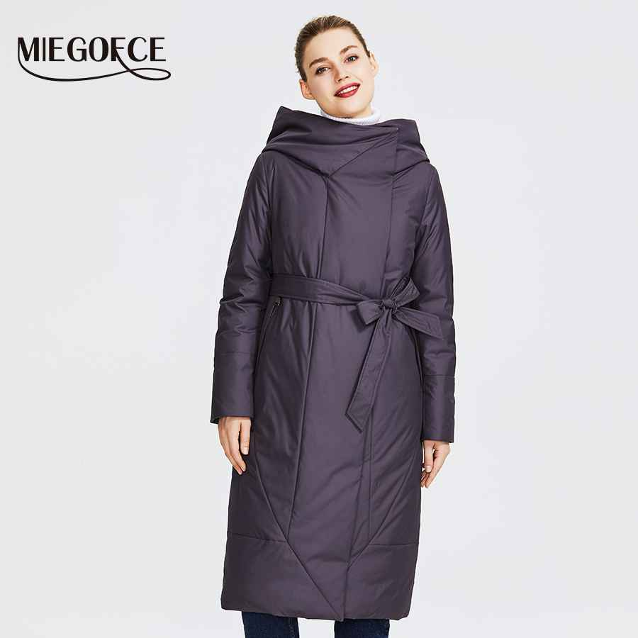 Miegofce 2019 New Collection Women s Coat With A Persistent Collar