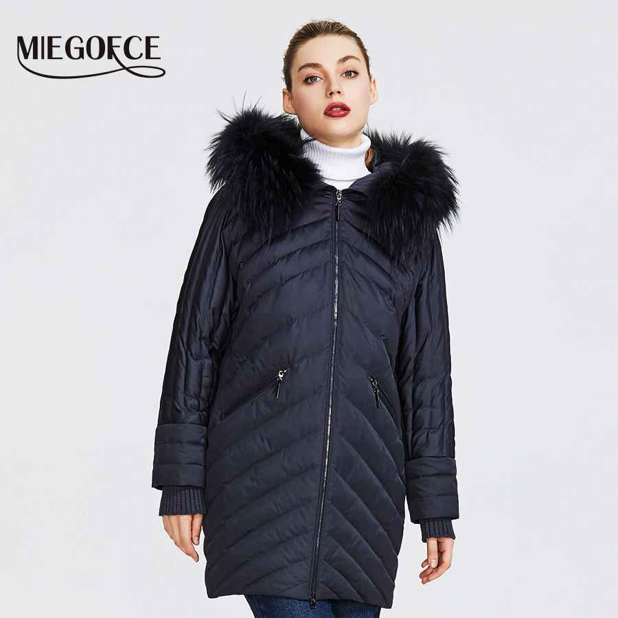 Miegofce 2019 New Winter Women s Collection Of Coat Extraordinary Design