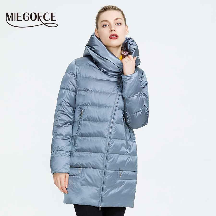 Miegofce 2019 Winter Women s Collection Women s Warm Jacket Women Coats
