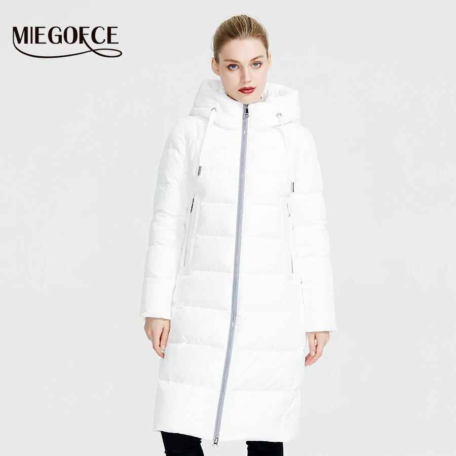 Miegofce 2019 New Winter Women Collection Coat Ladie Winter Jacket